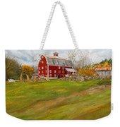 Red Barn Art- Farmhouse Inn At Robinson Farm Weekender Tote Bag