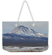 Farmland Under The Mountain Weekender Tote Bag