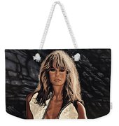 Farrah Fawcett Painting Weekender Tote Bag