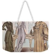 Fashion Advert For Eloy Mignot Weekender Tote Bag