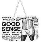 Fashion Corset, 1890 Weekender Tote Bag