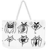 Fashion Cravats And Ties Weekender Tote Bag