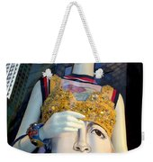 Fashion Face Weekender Tote Bag