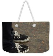 Fashion Meets Nature Weekender Tote Bag