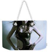 Fashion Portrait Weekender Tote Bag