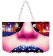 Fashionista Miami Pink Weekender Tote Bag