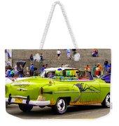 Fast And Furious In Cuba Weekender Tote Bag