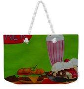 Fast Food Weekender Tote Bag