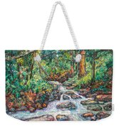 Fast Water Wildwood Park Weekender Tote Bag by Kendall Kessler