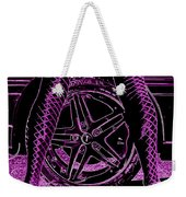 Faster In Fishnets Weekender Tote Bag