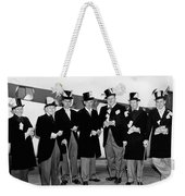 Fat Cats In Tuxedos Weekender Tote Bag