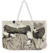 Fat Lady & Thin Man Weekender Tote Bag