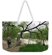Father And Son Hike Weekender Tote Bag