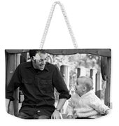 Father And Son II Weekender Tote Bag