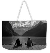 Father And Son Weekender Tote Bag