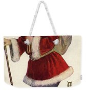 Father Christmas With A Bag Of Toys Weekender Tote Bag