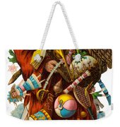 Father Christmas With Presents Weekender Tote Bag