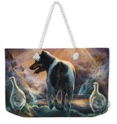 Father Goose Weekender Tote Bag