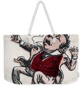 Fatty Fall Weekender Tote Bag