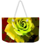 Fauvism Roses Triptych Weekender Tote Bag