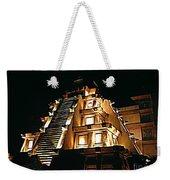 Faux Myan Pyramid Weekender Tote Bag