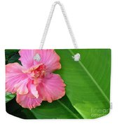 Favorite Flower 2 Weekender Tote Bag