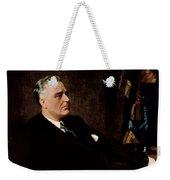 Fdr Official Portrait  Weekender Tote Bag