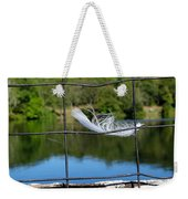 Feather And Fence Weekender Tote Bag
