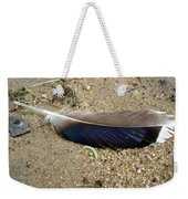 Feather And Inchworm Weekender Tote Bag