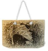 Feather And Leaf Weekender Tote Bag