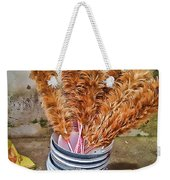 Feather Duster Bouquet Weekender Tote Bag
