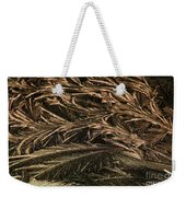 Feather Ice 2 Weekender Tote Bag