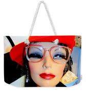 Feather In Her Cap Weekender Tote Bag