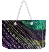 Feather Of A Different Color Weekender Tote Bag