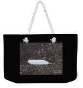 A Feather On A Beach Weekender Tote Bag