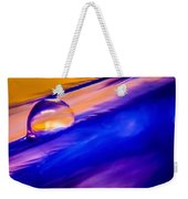 Feather Sunset Weekender Tote Bag