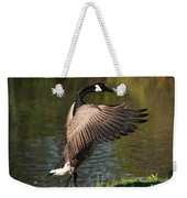 Feather Wash Weekender Tote Bag