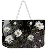 Feathered Daisy  Weekender Tote Bag