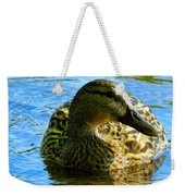 Feathered Female Weekender Tote Bag