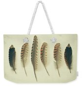 Feathers No2 Weekender Tote Bag