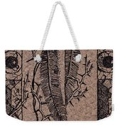 Feathers Thorns And Broken Arrow Bookmark No1 Weekender Tote Bag