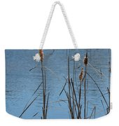February Cattails Weekender Tote Bag