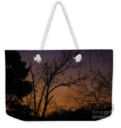 February Sunrise Weekender Tote Bag