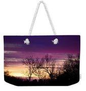 February's Dramatic Sunrise Weekender Tote Bag