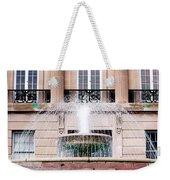 Federal Building Fountain Weekender Tote Bag