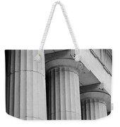 Federal Hall Columns Weekender Tote Bag