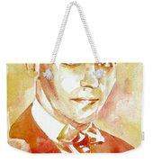 Federico Garcia Lorca Portrait Weekender Tote Bag