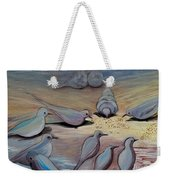 Feed The Birds Weekender Tote Bag