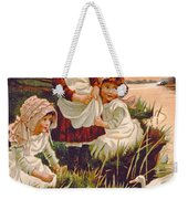 Feeding Ducks Weekender Tote Bag