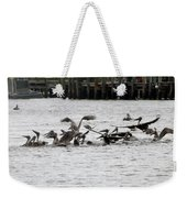 Feeding Frenzy Weekender Tote Bag